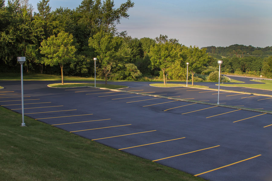 Commercial Paving & sealcoating parking lot albany ny