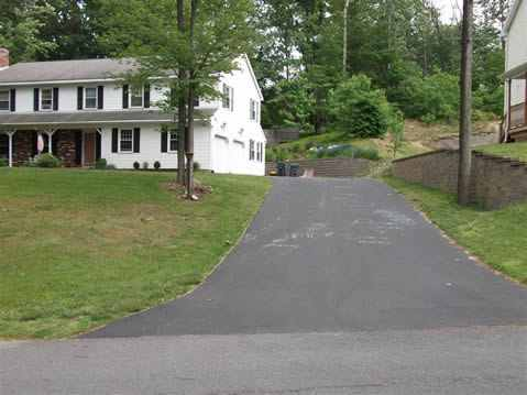seal coating a driveway in albany ny